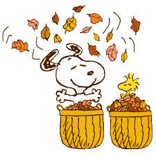 woodstock and snoopy fall